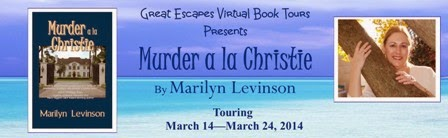 TOUR: Murder a la Christie, by Marilyn Levinson