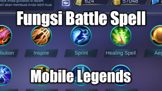 Fungsi Battle Spell Mobile legends
