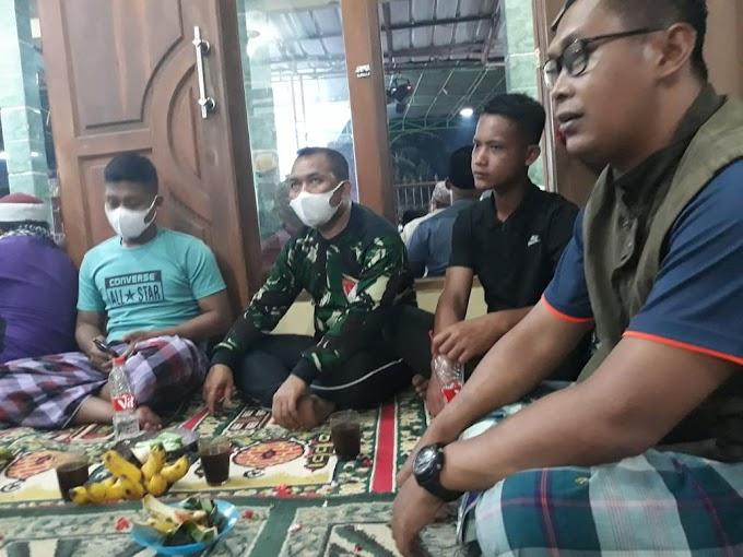 Anggota Satgas TMMD Bersama Warga Hadiri Peringatan Maulid Nabi Muhammad SAW