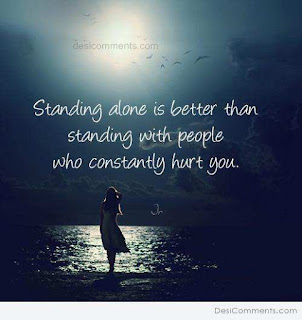 standing alone sad whatsapp dp and profile pic