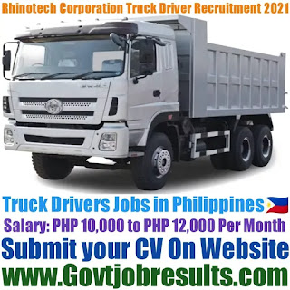 Rhinotech Construction Corporation Truck Driver Recruitment 2021-22