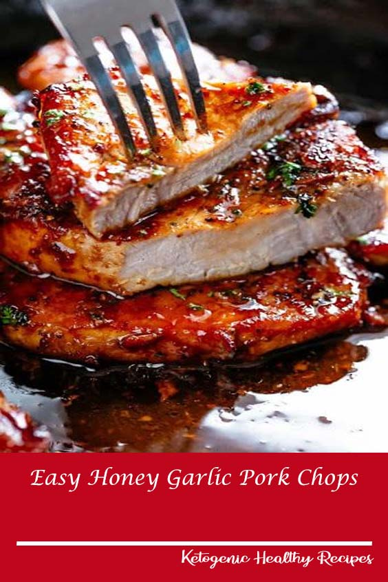 Easy Honey Garlic Pork Chops