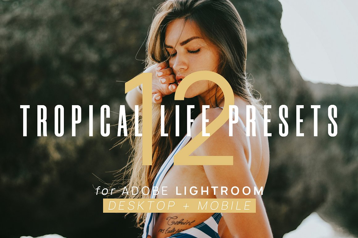 12 Tropical Life Presets + Mobile Free - ANDROID AR