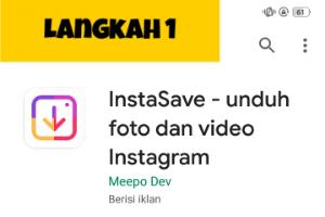 Cara Mudah Download Foto /gambar Video Instagram Dengan Instasave