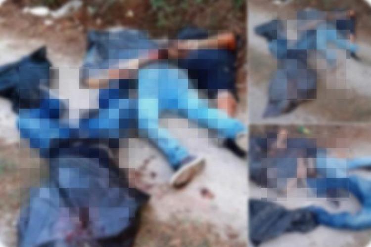 Maniatados, torturados y ejecutados, así dejaron Sicarios a tres sujetos abandonados con la cabeza embolsados en Jalisco.