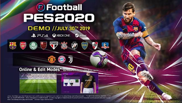Ini Dia Fitur baru di eFootball PES 2020