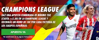 circus promocion 10 euros champions league 16-17 octubre