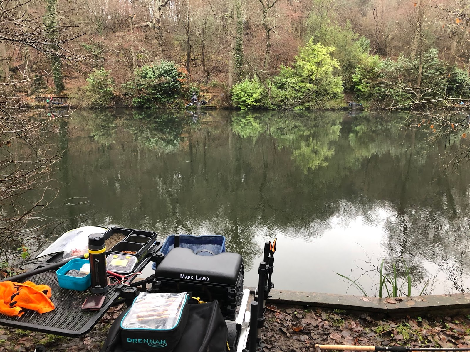 Gas Wood Lake Busbridge 23rd December 2018