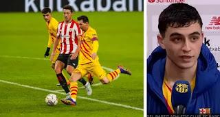 Pedri opens up on magnificent backheel assist to Leo Messi