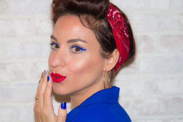 maquillage - pinup - kiss