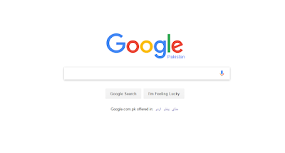 Google page pictue