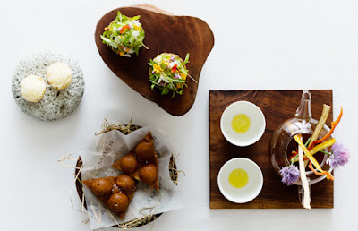 Source: World's 50 Best Restaurants website. Dishes from Amber.