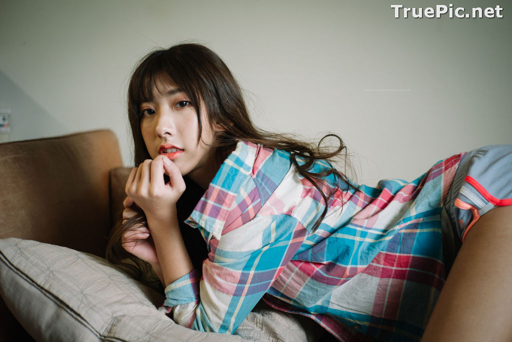 Image Taiwanese Model - Amber - Today I'm At Home Alone - TruePic.net - Picture-5