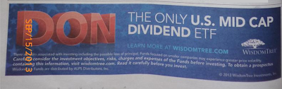 Don WisdomTree Investments Ad