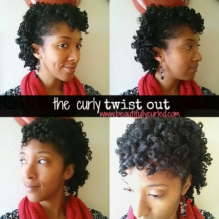 Curly Puff Natural Hair