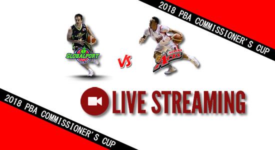 Livestream List: GlobalPort vs Alaska June 2, 2018 PBA Commissioner's Cup