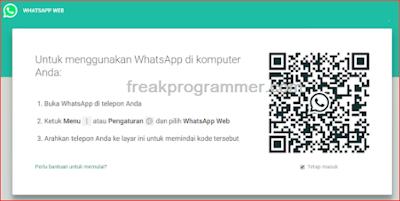 Cara menggunakan Whatsapp di Laptop (Whatsapp Web) dengan mudah