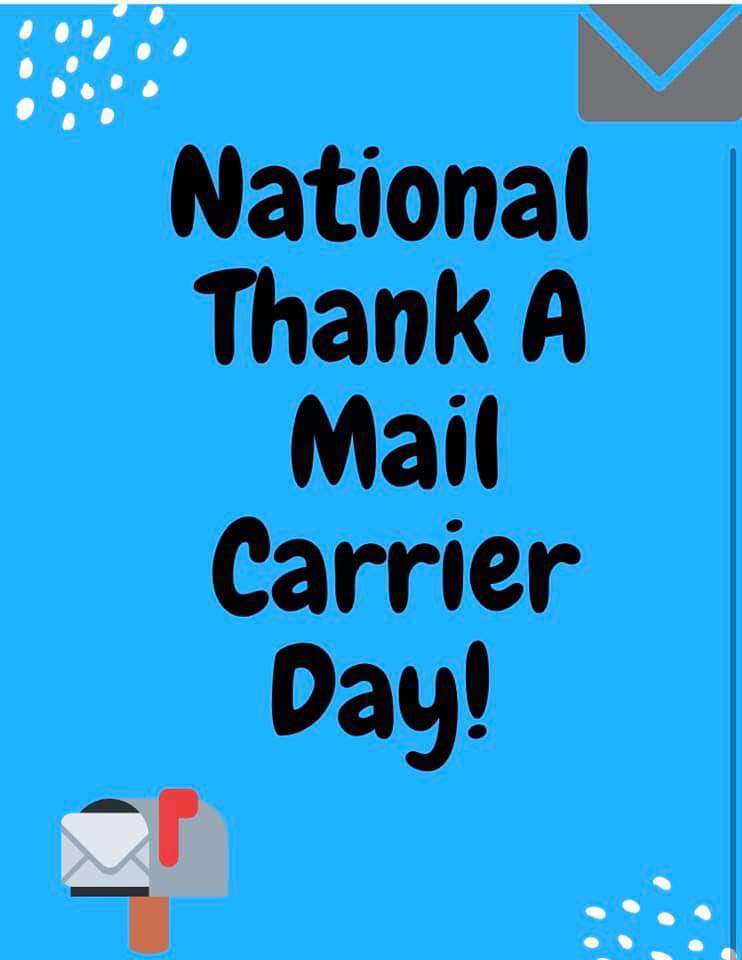 National Thank a Mail Carrier Day Wishes