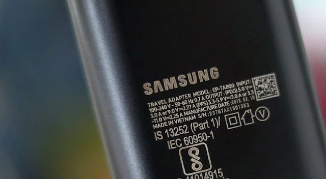Samsung Galaxy Note Charger Specs