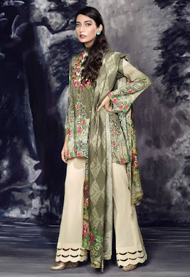 cross stitch winter linen khaddar dresses collection 2017 (13)