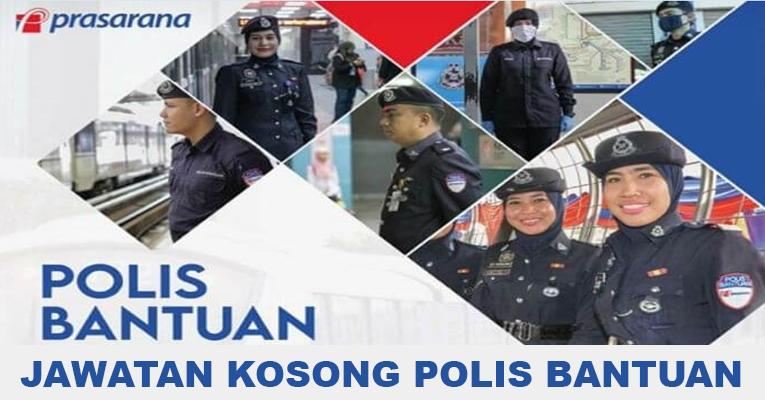 Kekosongan polis bantuan terkini di Prasarana Malaysia Berhad