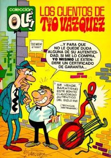 Los Cuentos de Tío Vázquez, Colección Olé nº 25