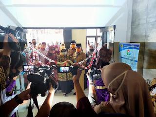 Gubernur Jambi Menghadiri HUT Koperasi Nasional Ke-73 Dan HUT UMKM Ke-5 Serta Melaunching Galerry  PLUT Jambi.