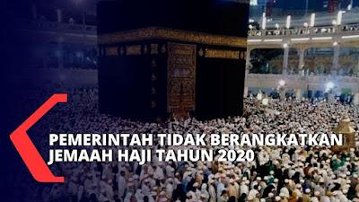 LANGKAH MENTRI AGAMA 2020 HAJI DI TIADAKAN