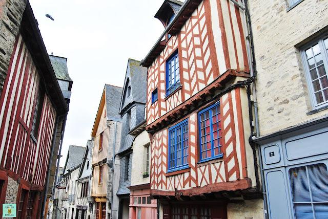 Calles de Vitré, Francia