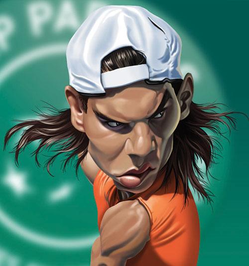 """""""Rafa Nadal"""" por Fernando Buigues"""