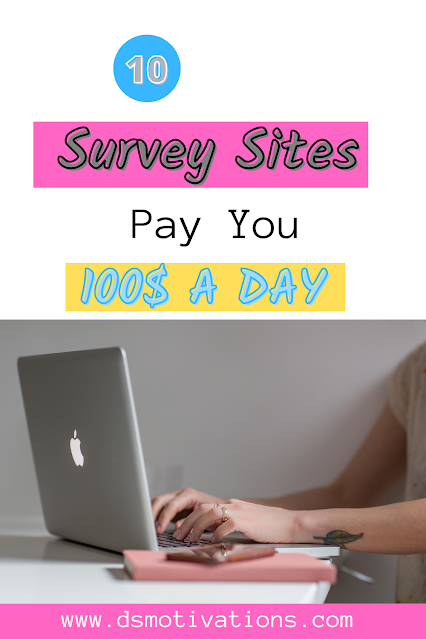 10 survey sites with the help of which you can earn 100$ A day