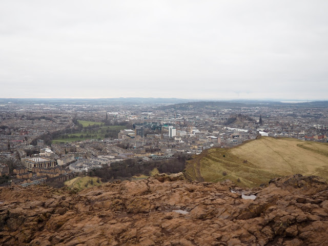 View from Arthur's Seat, Edinburgh, Scotland