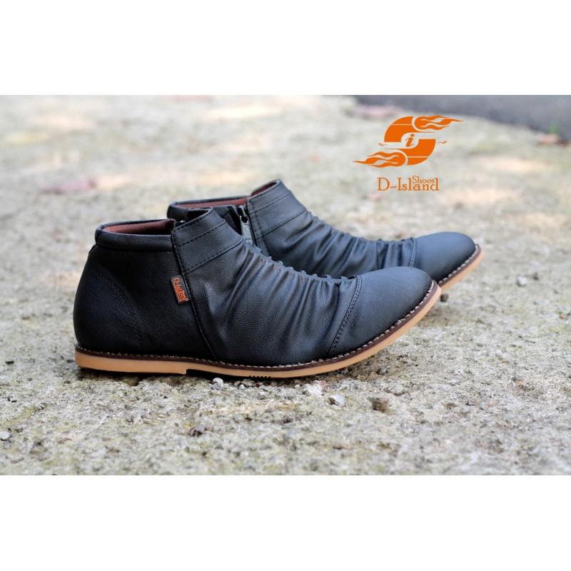 PromosiAliansi  Sepatu Wrinkle Dengan Aksen Lipatan Yang Elegant 4b595a5587