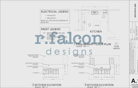 Adventures In Creating: Bold Kitchen Design