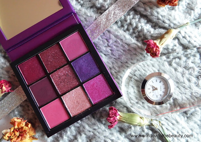 Huda Beauty Amethyst Obsessions review swatches