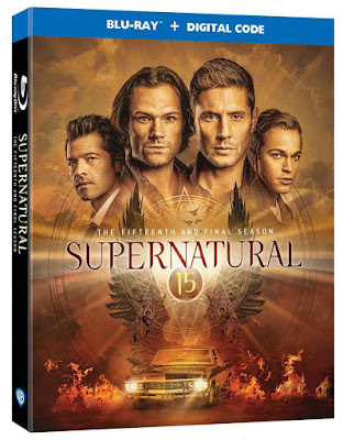 Supernatural the 15th Season Blu-ray