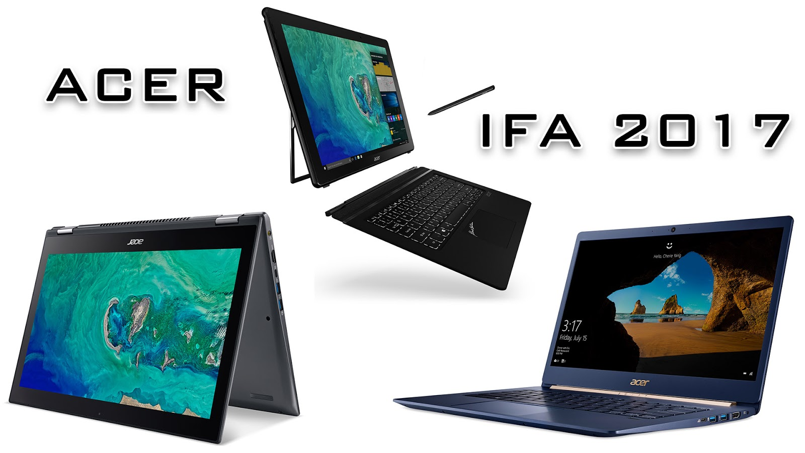 ifa 2017 acer unveils swift 5 spin 5 and switch 7 black edition. Black Bedroom Furniture Sets. Home Design Ideas