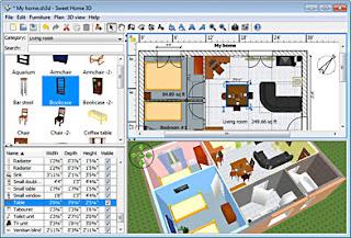 تحميل تنزيل برنامج التصميمات ثلاثية الابعاد Download Sweet Home 3D Free Direct برابط مباشر