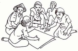 Cara memilih kelompok belajar