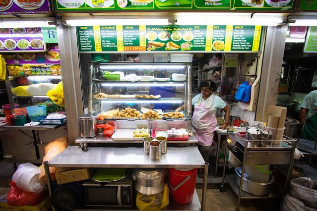 Bugis market-Little India-Singapore