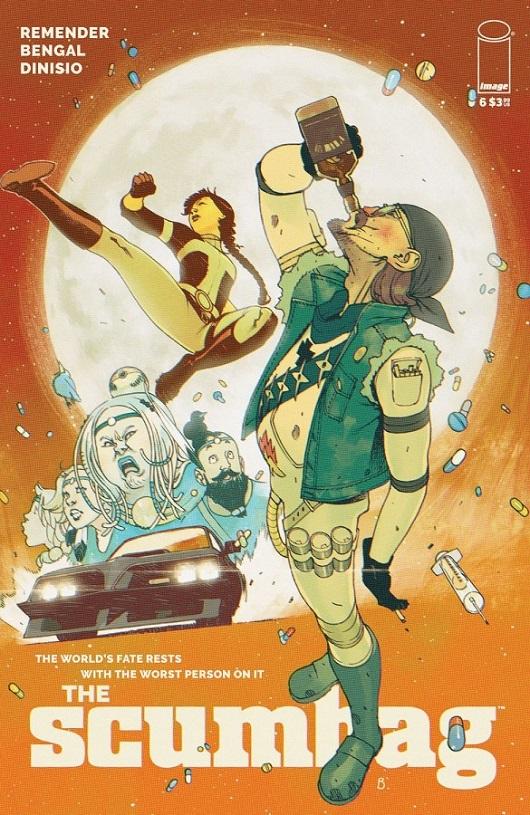 Cover of Scumbag #6