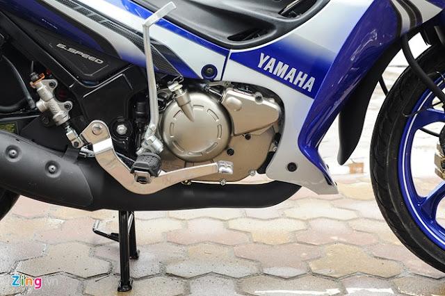 Yamaha Z125 độ cực ngầu tại Sài Gòn 3