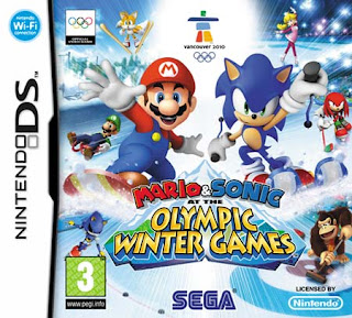 Mario & Sonic at the Olympic Winter