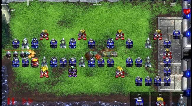 Jogo para Android Robo Defense