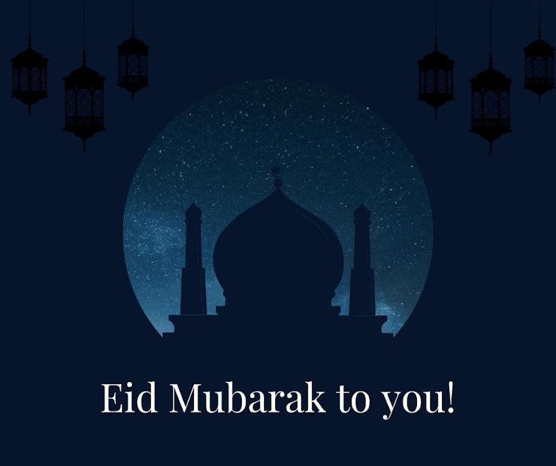 Eid Mubarak to you images
