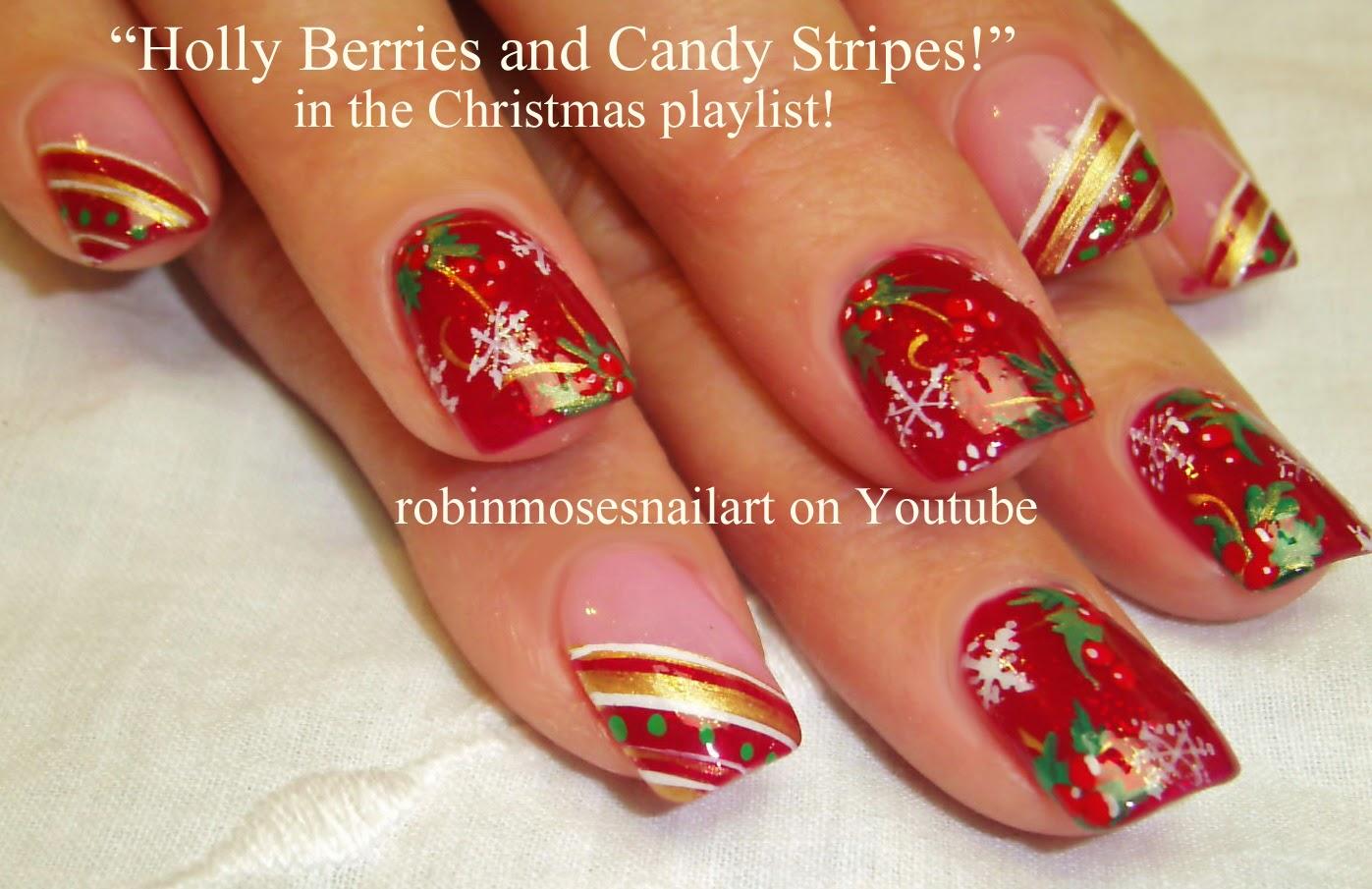 """Robin Moses Nail Art: """"christmas nails"""" """"nail art"""" """"cute ..."""