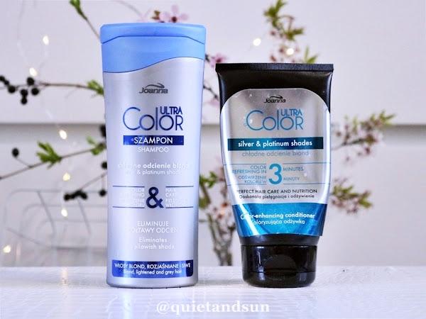 Jak utrzymać ładny kolor blondu? Joanna Ultra Color System, szampon i odżywka eliminujące żółtawy odcień włosów