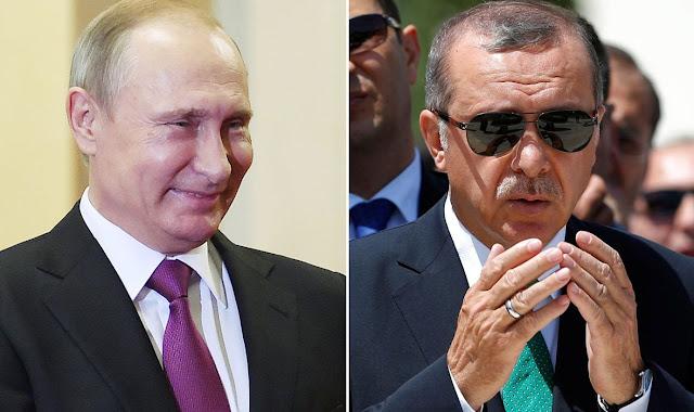 Erdogan: Eu vou abrir uma 'nova página com o meu amigo Putin' - MichellHilton.com
