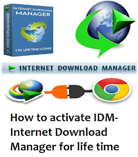 How to activate IDM-Internet Download Manager for life time