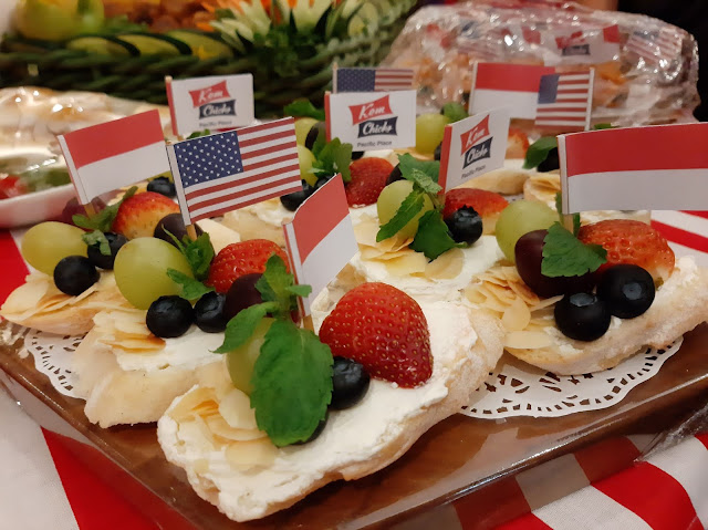 Canape, kuliner Amerika